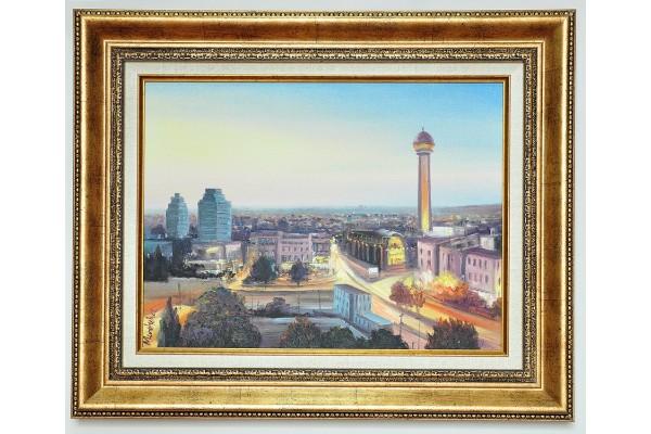 City of Ankara Painting